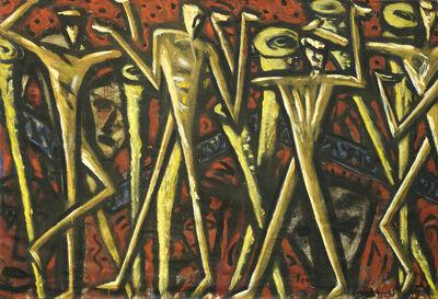 Erwin Bohatsch, 'Regentanz', 1983