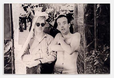 William John Kennedy, 'Andy Warhol & Taylor Mead, The Factory, N.Y.C', 1964