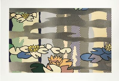 Roy Lichtenstein, 'Water Lily Pond with Reflections', 1992