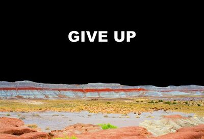 Brian Hubble, 'Give Up', 2014