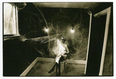 Leslie Krims, 'Cobweb, Nude', ca. 1969