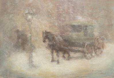Everett Shinn, 'The Postman', Date Unknown