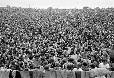 Baron Wolman, '300,000 Strong, Woodstock, 1969', 1969