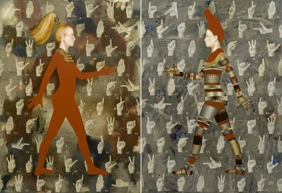 Igor & Marina, 'Walkers-XII (I Wanna Hold Your Hand)'