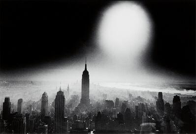 William Klein, 'Atom Bomb Sky, New York', 1955-printed 2014
