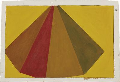 Sol LeWitt, 'Asymmetrical Pyramid', 1987