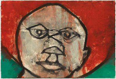 Hughie O'Donoghue, 'That Face IX', 2011