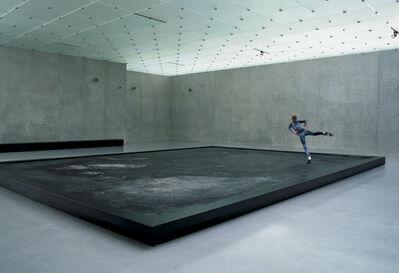 Pierre Huyghe, 'L'Expédition Scintillante, Acte 3: Untitled (Black Ice Stage)', 2002