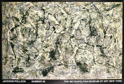 Jackson Pollock, 'Number 28', 1988