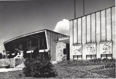 János Szász, 'Series of Buildings II', ca. 1960