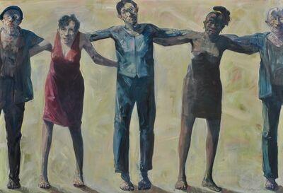 Robert Indermaur, 'Fences - 5 Personen', 2015