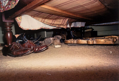 William Eggleston, 'Untitled [Shoes under Bed]', circa 1972