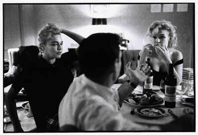 Bruce Davidson, 'Simone Signoret, Yves Montand, and Marilyn Monroe at a Beverly Hills Hotel. Beverly Hills, California, USA', 1960