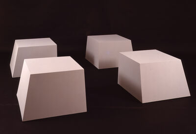 Robert Morris (1931-2018), 'Untitled (Battered Cubes)', 1966