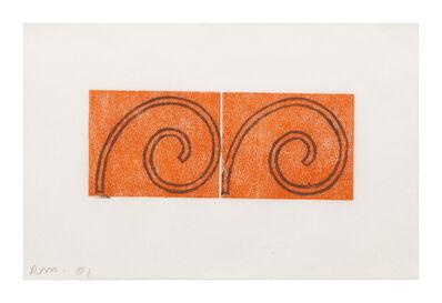 Robert Mangold (b.1937), 'Untitled (Greeting Card 6)', 2001