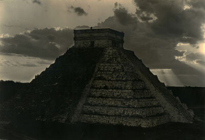 Laura Gilpin, 'Castillo at Sunset, Chichen Itzá1932', ca. 1932