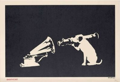 Banksy, 'HMV Dog', 2004