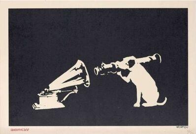 Banksy, 'HMV Dog', 2004
