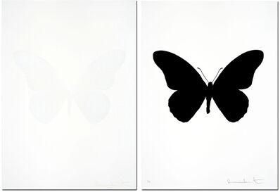 Damien Hirst, 'Souls IV Raven Black/Souls IV White Cotton- Sold as a matching pair'