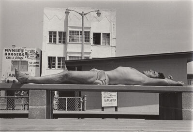 Ed Sievers, 'Untitled (man on bench)', c. 1970's