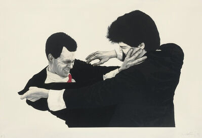 Robert Longo, 'Frank and Glen', 1991