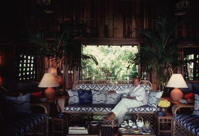 Slim Aarons, 'Oscar De La Renta', 1985