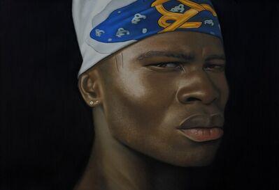 Babajide Olatunji, 'Man with Silk Scarf', 2021