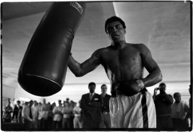 Al Satterwhite, 'Muhammad Ali (Hitting the Bag)', 1971