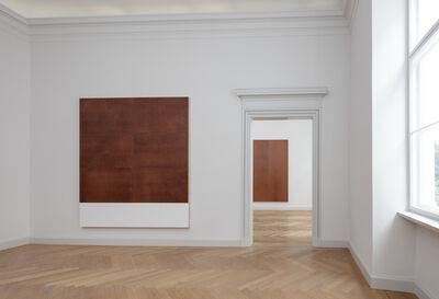 Imi Knoebel, 'dass die Geschichte zusammenbleibt - Schattenraum 6 + 3 Bilder', 1989