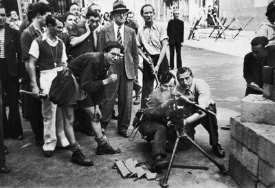 Henri Cartier-Bresson, 'LIBERATION OF PARIS, RUE SAINT HONORE, PARIS, 1944', 1944