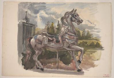 Reginald Marsh, 'Untitled (Carousel Horse)'