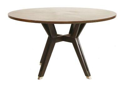 Ico Parisi, 'A rosewood circular table'
