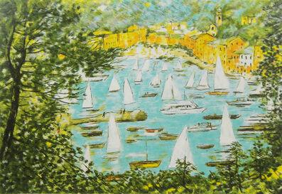 Michele Cascella, 'Regatta', 1989