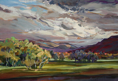 Brent Laycock, 'Clouds and Light at Myrtleford', 2013