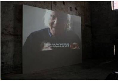 Dora García, 'The joycean society 5/6', 2013
