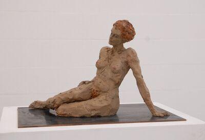 Stephan Balkenhol, 'Reclining Woman', 2011