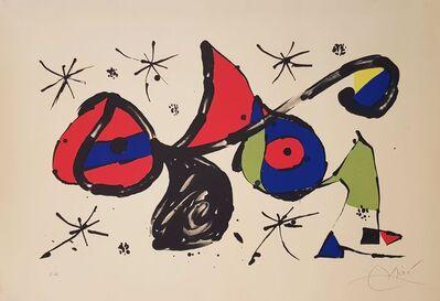 Joan Miró, 'Homenaje a Joan Miró', 1978