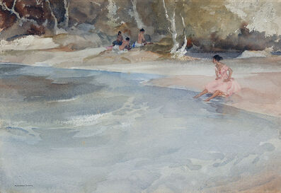 William Russell Flint, 'A Picnic Dispute (on the Garonne)'