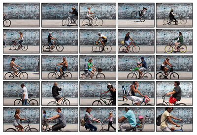 Ave Pildas, 'G Wall Bicycles', 2013