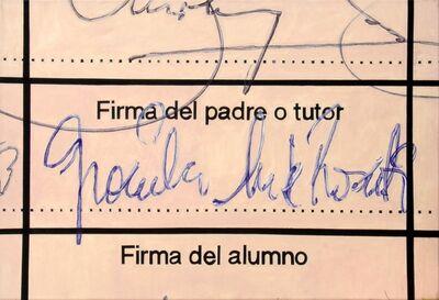 Gachi Rosati, 'Firma del padre o tutor ', 2005