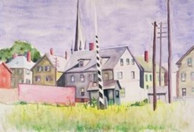 Josephine Nivison Hopper, 'Railroad Gates, Gloucester', 1928