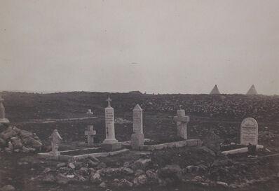 Roger Fenton, 'Cemetery, Cathcart's Hill', 1856