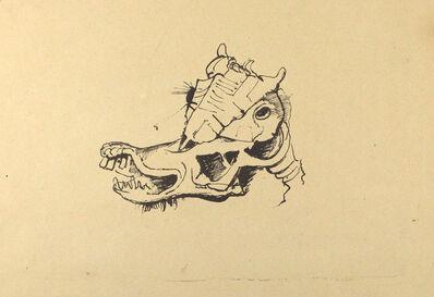 Karl Hofer, 'Pferdeschädel / Horse Skull', ca. 1948