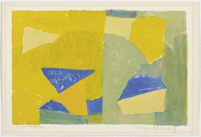 Serge Poliakoff, 'Composition jaune, verte, bleue et rouge', 1956