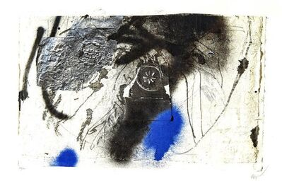 "Antoni Clavé, 'Original Lithograph ""Blue Abstract Composition"" by Antoni Clavé', Circa 1946"
