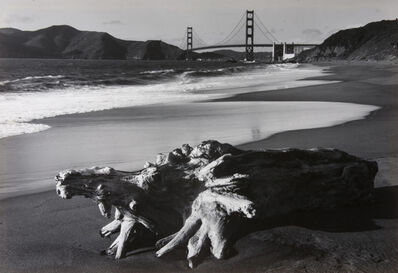 Pirkle Jones, 'Log and Golden Gate Bridge, San Francisco', 1952