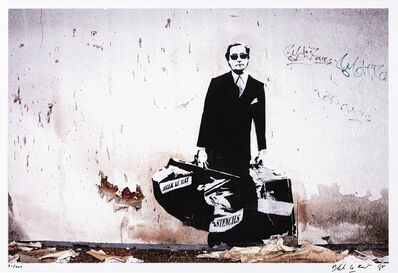 Blek le Rat, 'Getting Through The Walls', 2008