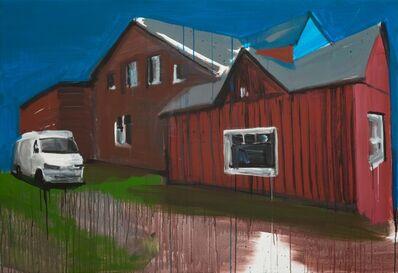 Rainer Fetting, 'Braune Häuser Westerland', 2018