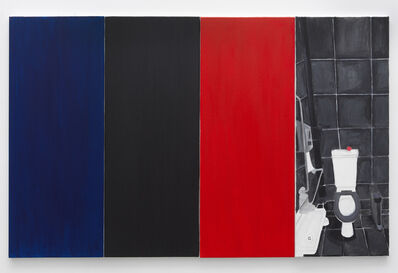 Juliette Blightman, 'Blue, Black, Red, Apple', 2020