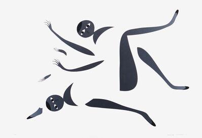 Santiago Salvador Ascui, 'Serigrafia Intervenida Grey 1 (ed 2)', 2018